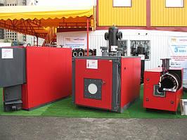 Котел газовый  от КОЛВИ-200 до 20 МВт жаротрубный с горелкой Guenod