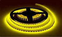 Светодиодная лента LED Желтый Двойная Силикон