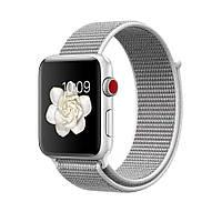 477cf40d Ремешок Bodi для Apple Watch Series 2 Sport Loop 42 mm Seashell Grey  645872, КОД