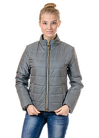 Женская демисезонная куртка IRVIC 46 Оливковый IrC-FZ155-46, КОД: 258966