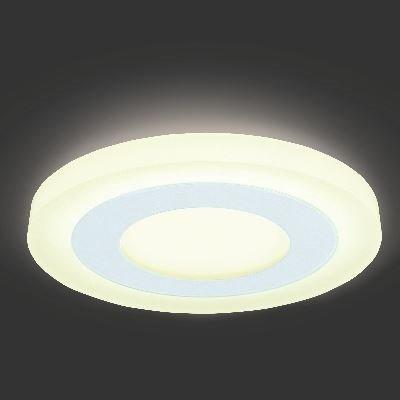 Врезной светильник GAUSS Backlight BL117 LED 9W 4000 К круглый белый