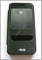 Черный View Flip cover чехол-книжка для смартфона Asus Zenfone 4 A400CXG, фото 1