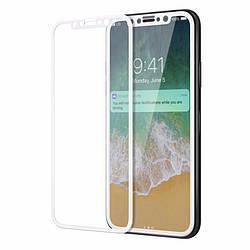 Защитное стекло iMax 3D Full Screen для Iphone X Белый IP4421024008, КОД: 132437