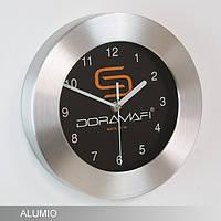 Настенные часы с логотипом ALUMIO
