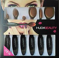 Уценка Набор кистей для корректирующих средств Huda Beauty (6 шт.) - примятая упаковка