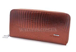 Женский кожаный кошелек BALISA на молнии, коричневый