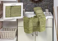 Подарочный набор полотенец из 100% бамбука