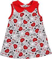 Платье ValeriTex 180499127027 86 см Серый, КОД: 261877