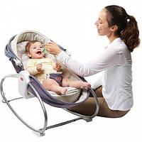 Дитячі крісло-ліжечка-качалки