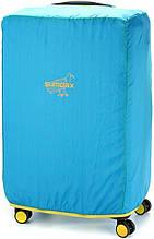 Защитный чехол для среднего чемодана Sumdex SWC-002 голубой