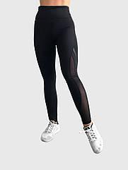 Леггинсы женские для фитнеса Trend Fitness Черные M 86TF18BLM, КОД: 152740