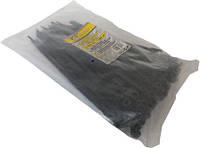 (65018) Стяжка пластикова під гвинт 3.6X150 мм чорна 100шт.СТАЛЬ