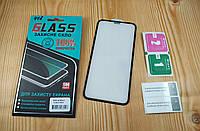 4D full glue защитное стекло для Apple iPhone Xr (black)