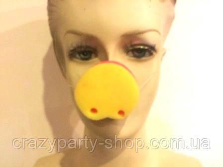 Нос карнавальный Пятачок поролон