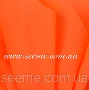 Бумага тишью, Orange, 1 лист