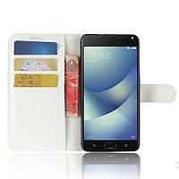 Чехол-книжка Litchie Wallet для Asus Zenfone 4 ZE554KL Белый