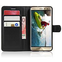 Чехол-книжка Litchie Wallet для Asus Zenfone 3 (ZE520KL) Черный