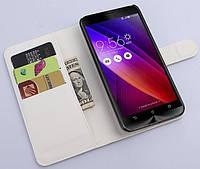 Чехол-книжка Litchie Wallet для Asus Zenfone 3 (ZE520KL) Белый