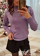 Женский свитер с бусинками, фото 1