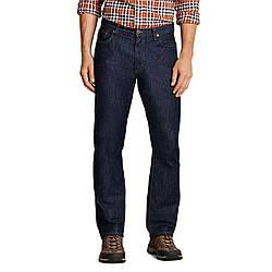 Джинсы Eddie Bauer Mens Flex Jeans Slim Fit DK WASH 32-32 Синие 792-0109DWS-32W 32L, КОД: 271115