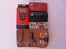 Маникюрный набор сталекс ( 5 предметов), кошелек