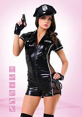Эротический костюм TouchMeBR Эротический полицейский S M, КОД: 278002