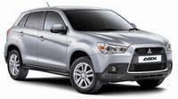 Бризковики Mitsubishi ASX