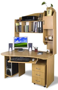 Стол полу угловой компьютерный Анкара.
