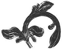 Листок из металла 170мм х 220мм x 2.5мм Арт. AD-51.116