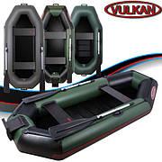 Двухместная гребная ПВХ лодка Vulkan TB285 LSPT(ps)
