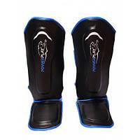 Защита голени и стопы Powerplay / 3052 / BLACK BLUE L, фото 1
