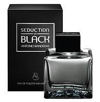 Оригинал Antonio Banderas Seduction in Black for men 100ml ( волнующий, сексуальный, теплый аромат)