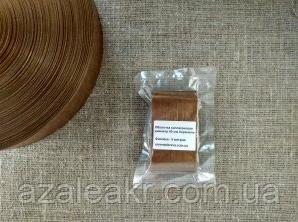 Коллагеновая оболочка 40 мм 10м. Цвет - карамельный, фото 2