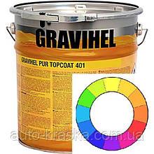GRAVIHEL поліуретанова емаль 401, високоглянцевая. Всі кольори!