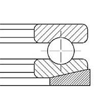 Подшипник 18204 (53204+U204)