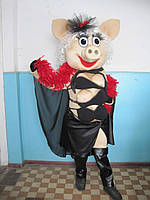 Ростовая кукла Свинка стриптизерша, пошив под заказ