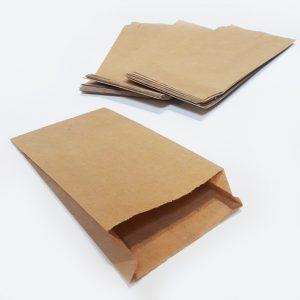Пакет паперовий для шаурми Економ 190х100х30 бурий 500шт