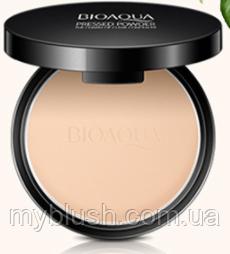 Прессованная пудра Bioaqua Pressed power с матирующим эффектом 10 g № 7 (светлый цвет)
