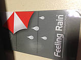 "Чоловічий напівавтомат зонт на 10 спиць системи ""антиветер"" ручка гачок., фото 7"