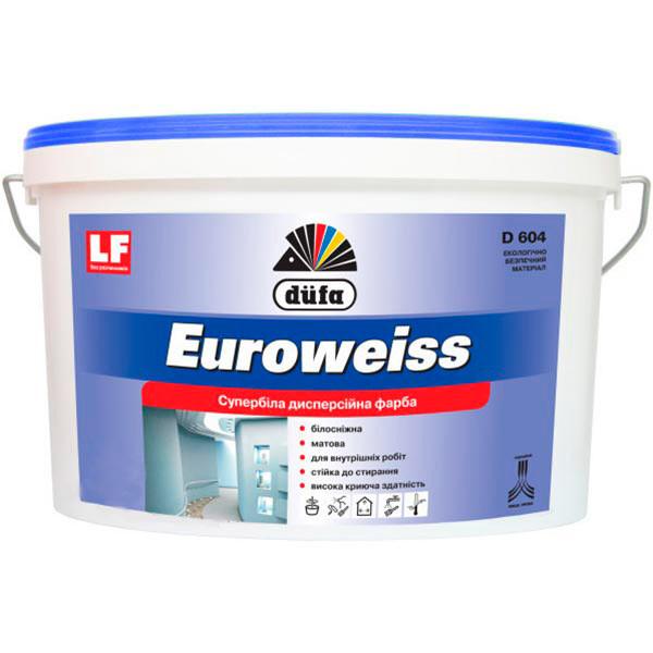 Фарба дисперсійна Dufa Euroweiss 7кг