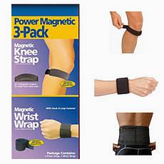 Комплект магнитных лент Power Magnetic 3-Pack, магнитные пластины, фото 3