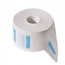 Бумажные воротники на пластиковой шпуле с голубым клеем (6,5см*34м растяжка 200%) (5шт.\уп.)