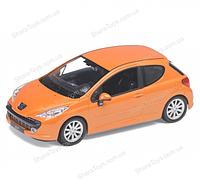 """Машина Welly """"Peugeot 207"""""""