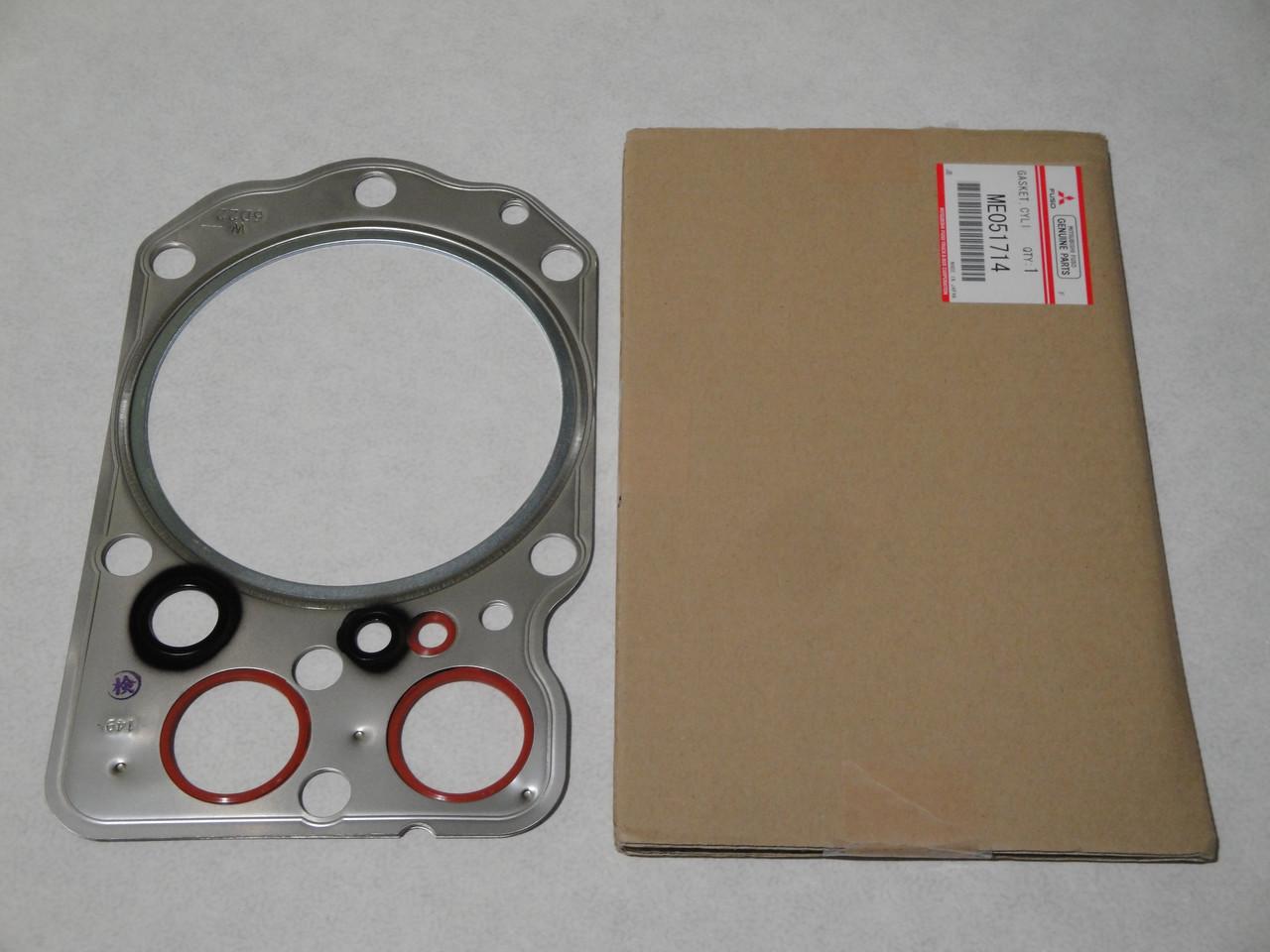 Прокладка головки двигуна MITSUBISHI SAFIR MS827 (MITSUBISHI 6D24T) (ME051714) MITSUBISHI