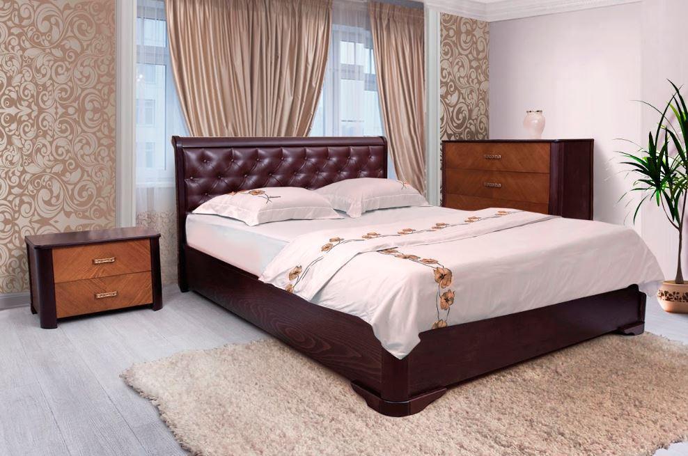 Кровать двуспальная Ассоль