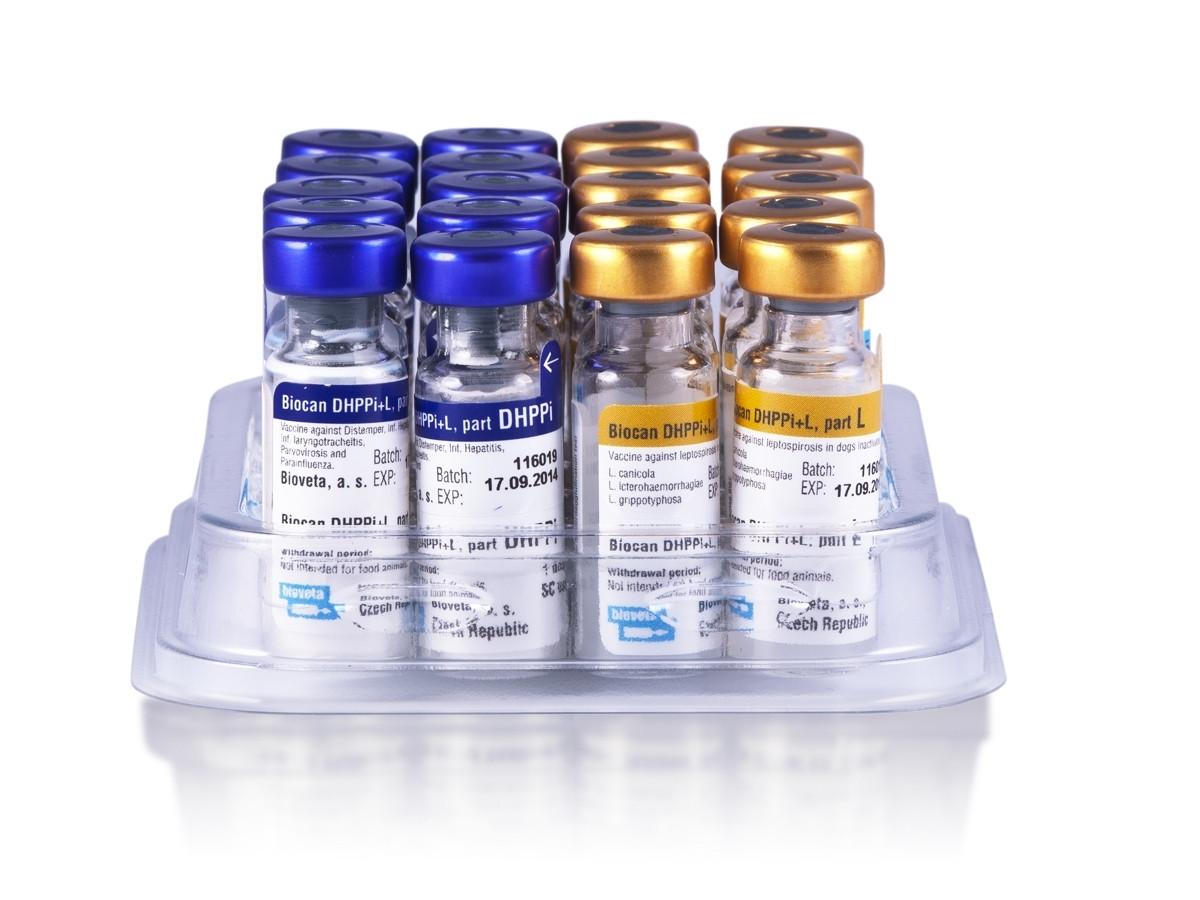 BIOCAN DHPPI+L БИОКАН вакцина для собак от 8 недель чума, гепатит