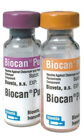 BIOCAN PUPPY БИОКАН вакцина для собак от 5 недель чума,гепатит