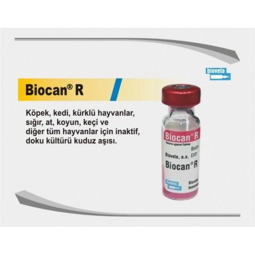 BIOCAN R БИОКАН вакцина против бешенства у животных от 12 недель