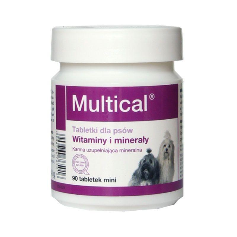 DOLFOS ДОЛФОС MULTICAL MINI МУЛЬТИКАЛЬ МИНИ витаминно-минеральный комплекс для собак, 90 таблеток