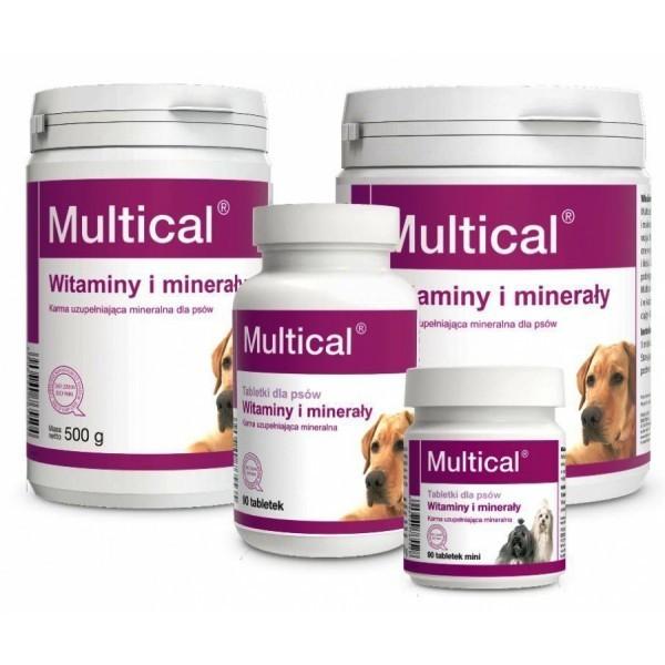 DOLFOS ДОЛФОС MULTICAL МУЛЬТИКАЛЬ витаминно-минеральный комплекс для собак, 90 табле